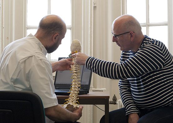 consultation with copthall health osteopaths
